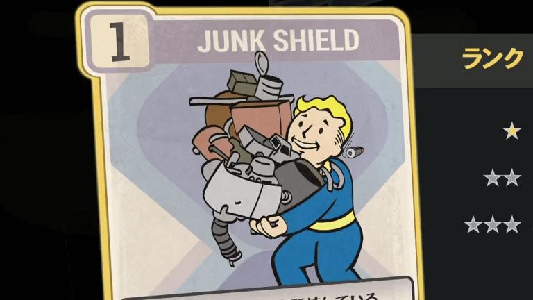 JUNK SHIELD のランク別効果について【Fallout76】